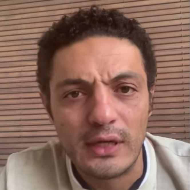 Mohamed Ali, entrepreneur égyptien devenu leader de la contestation du pouvoir.
