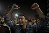 Manifestation contre le pouvoir, le 21 septembre, au Caire.
