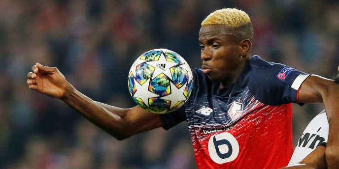 """Lille đã nghĩ đến """"một vụ chuyển nhượng lớn"""" cho tiền đạo Victor Osimhen của mình."""