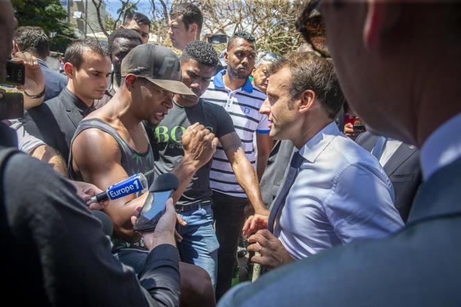 Aux Camélias, un quartier populaire de Saint-Denis, le 24 octobre.