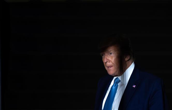 Le président américain, Donald Trump, le 23 octobreà Washington.