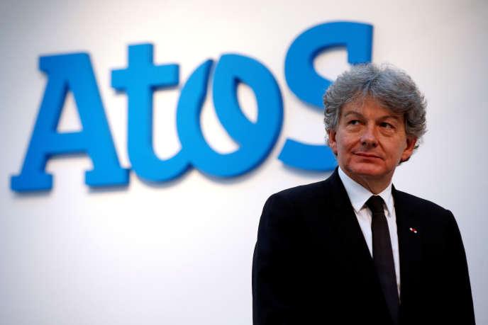 L'actuel PDG d'Atos, Thierry Breton, à Paris, le 12avril2016.