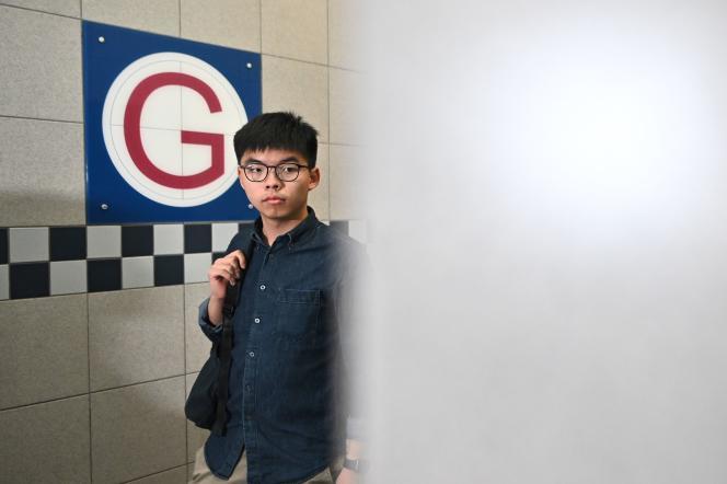 Joshua Wong est le visage du « mouvement des parapluies» de 2014.