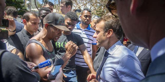 En visite à La Réunion, Macron annonce un plan pour l'emploi sur l'île