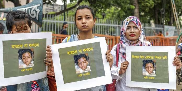 Au Bangladesh, 16 personnes condamnées à mort pour le meurtre d'une jeune femme, brûlée vive