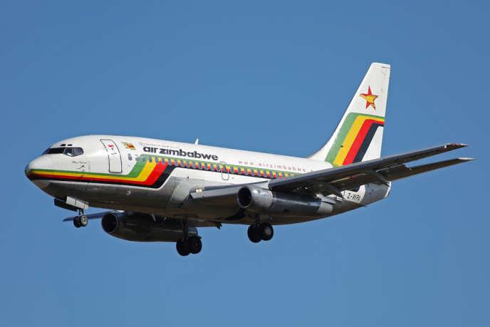 Un avion de la compagnie Air Zimbabwe, en 2009.