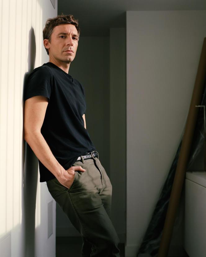 Julien Dossena, directeur artistique de Paco Rabanne, à Paris, en octobre.