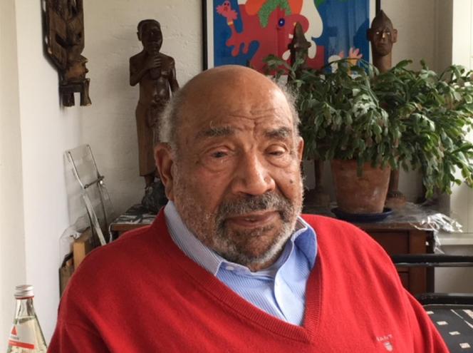 Theodor Michael Wonja, chez lui à Cologne (Allemagne), le 10 avril 2018.