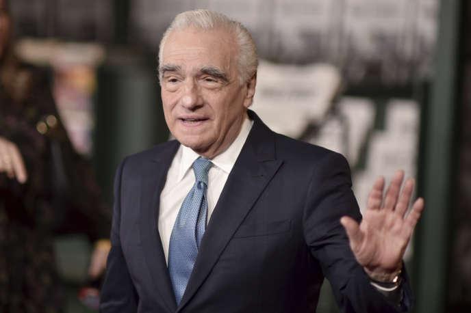 Martin Scorsese, lors de la première de« The Irishman», à Los Angeles, le 24 octobre.