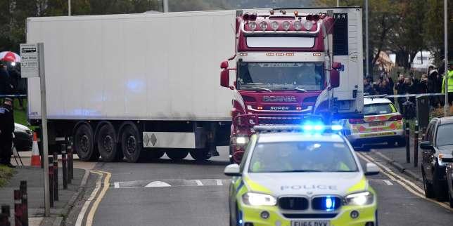 Deux nouvelles arrestations dans l'enquête sur le camion charnier au Royaume-Uni