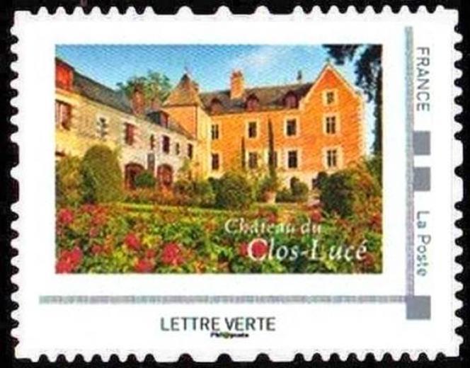 Tirage 10000 exemplaires pour ce timbre issu d'un collector de huit timbres sur les châteaux de la Loire vendu 9,50 euros.