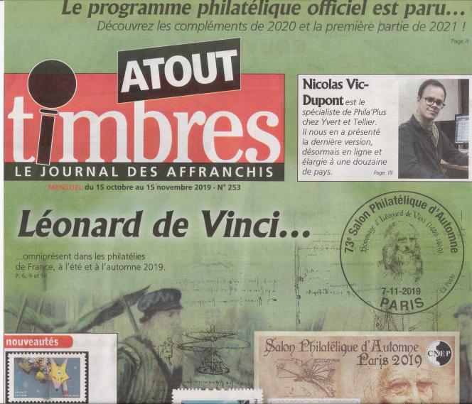 «Atout timbres», 32 pages, 2,20 euros, en vente en kiosques ou par abonnement auprès de l'éditeur.