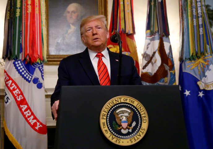 Donald Trump a annoncé, le 27octobre, que le chef de l'organisation Etat islamique avait été tué dans un raid mené par les Etats-Unis.