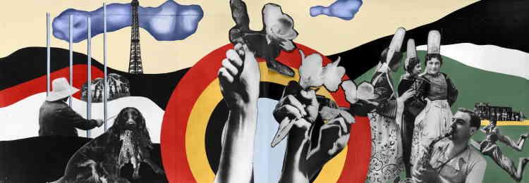 Engagée auprès du Front Populaire, Charlotte Perriand est chargée de la communication du programme des réformes agricoles pour le pavillon du ministère de l'agriculture, dans le cadre de l'Exposition internationale des arts et techniques de la vie moderne à Paris. Les réformes du Front populaire vont apporter un progrès social en améliorant les revenus des paysans et leurs conditions de vie. Charlotte Perriand et Fernand Léger se font une joie de revendiquer le droit aux « plaisirs nouveaux ». Associer le « plaisir » à une activité de production est une révolution pour la France conservatrice, qui voit d'un très mauvais œil l'instauration des congés payés.