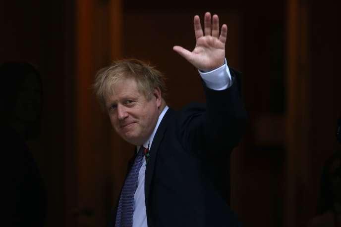 Le premier ministre britannique, Boris Johnson, à Londes, le 28 octobre 2019.