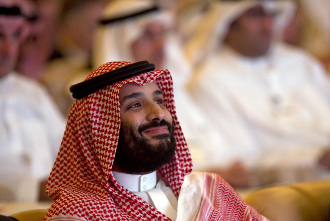 Le prince Mohammed Ben Salman, à Riyad le 23 octobre 2018.
