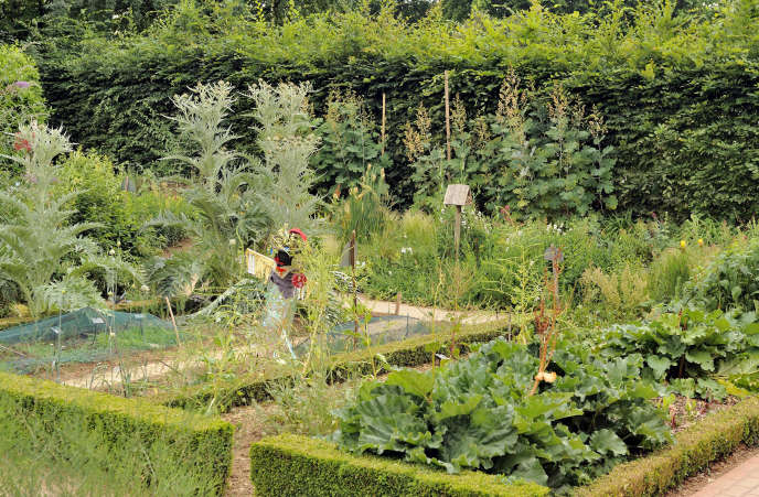 Potager de la Maison du jardinage, parc de Bercy, Paris 12e.