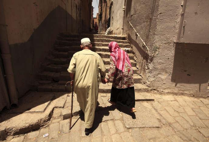 Dans la vieille ville de Constantine, au nord-est de l'Algérie, en 2012.