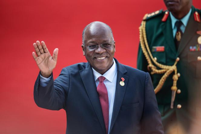 Le président tanzanien, John Magufuli, à Pretoria, en Afrique du Sud, le 25mai 2019.