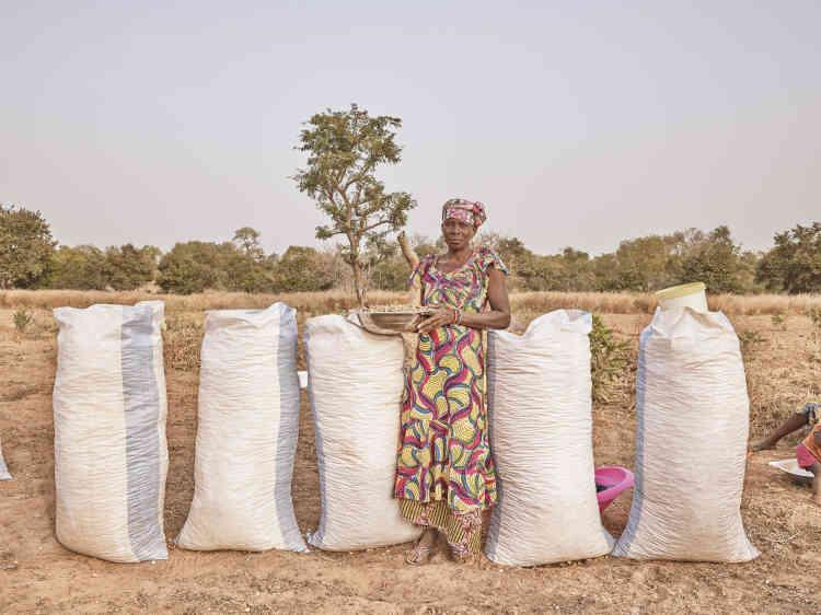 «Mariama est membre du collectif agricole féminin fondé par Le Korsa dans le village de Sinthian. »