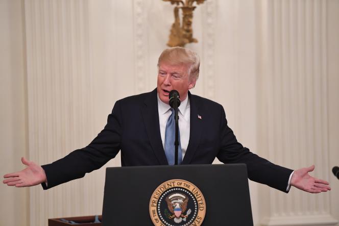 Donald Trump, à Washington, le 30 octobre.