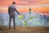 L'utopie écologique dépeint une organisation de l'économie et de la société tendue vers la sobriété, le« moins mais mieux».