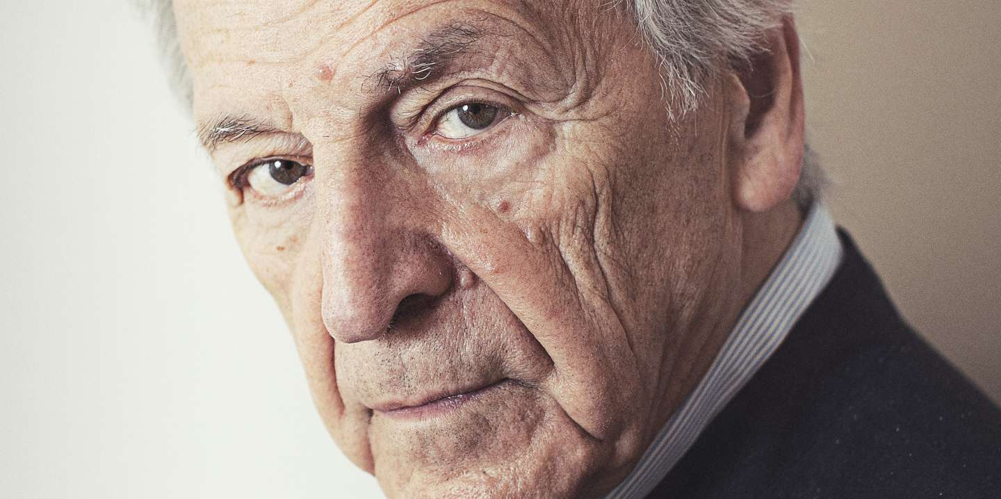 VENICE, ITALY - SEPTEMBER 2: Costa Gavras poses for a portrait session during the 76th Venice Film Festival on September 2, 2019 in Venice, Italy.