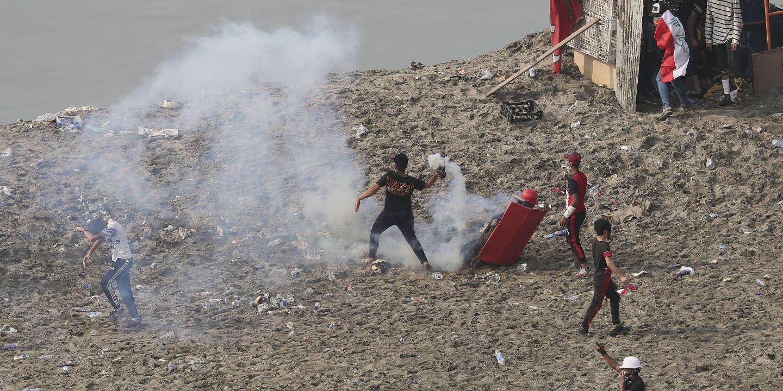 Ở Iraq, một người lính thiệt mạng vì vụ nổ tên lửa gần đại sứ quán Mỹ