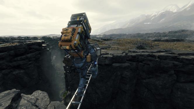 Sam construit des ponts (« bridge» en anglais) entre les Américains pour la société Bridges sur ordre de sa mère Bridget. Le symbolisme à la Kojima.