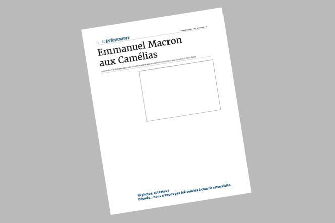 Le « Journal de l'île de la Réunion», le 25 octobre 2019.