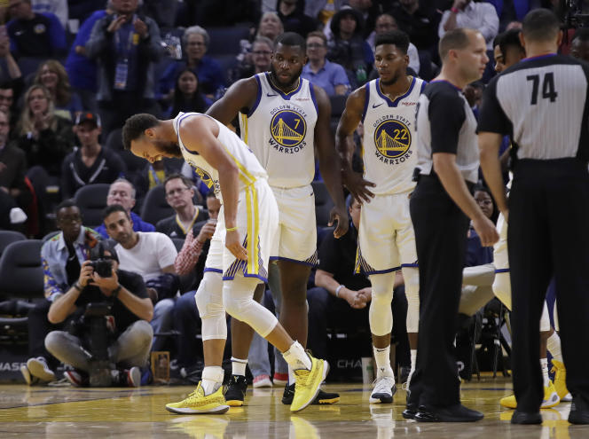 Stephen Curry et les Golden State Warriors, le 30 octobre 2019.
