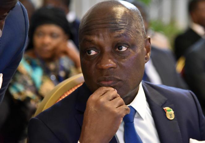 Le président bissau-guinéen, José Mario Vaz, à Abidjan, en avril 2017.