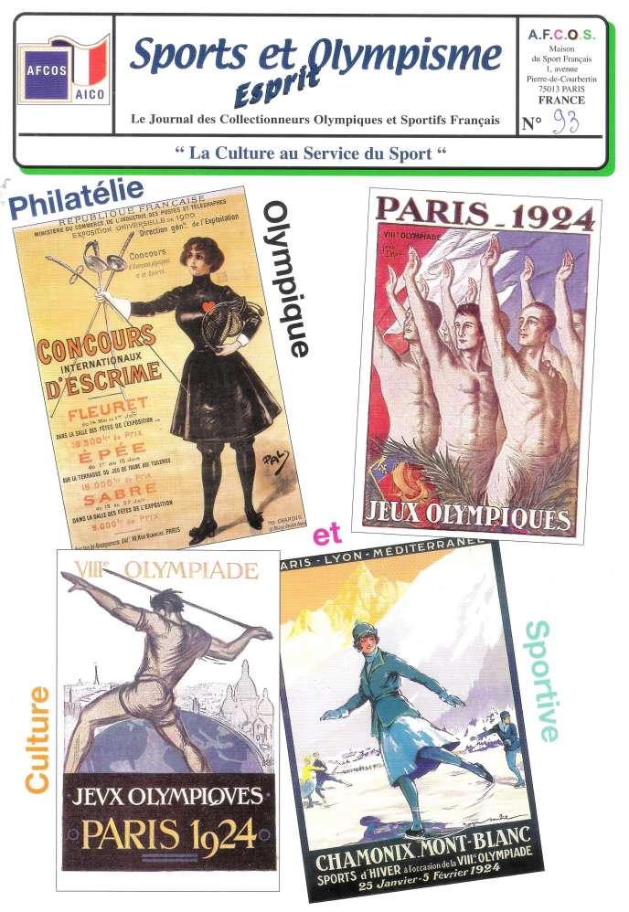 « Esprit, sports et olympisme », 24 pages, édité par l'Afcos, Maison du sport français, 1, avenue Pierre-de-Coubertin, 75013 Paris.