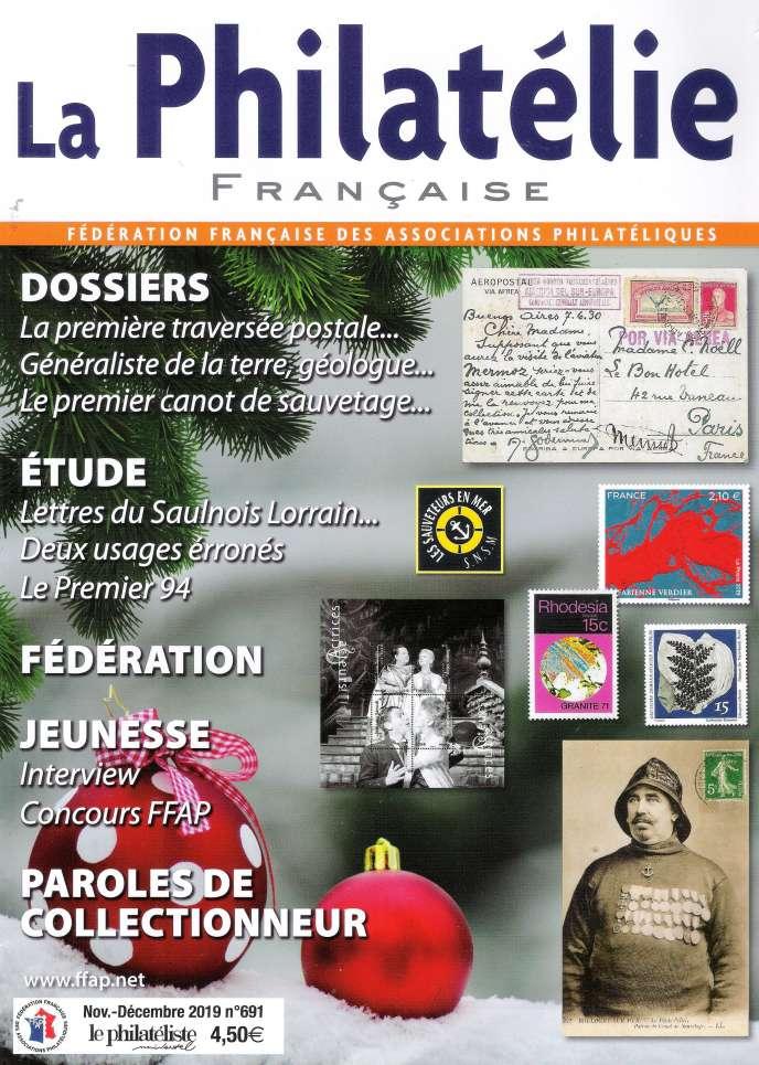 « La Philatélie française» datée novembre/décembre.