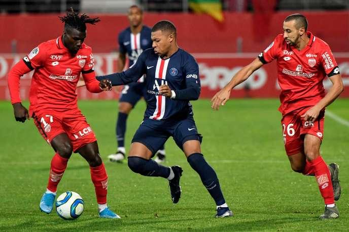 Kylian Mbappé a marqué l'unique but, côté PSG.