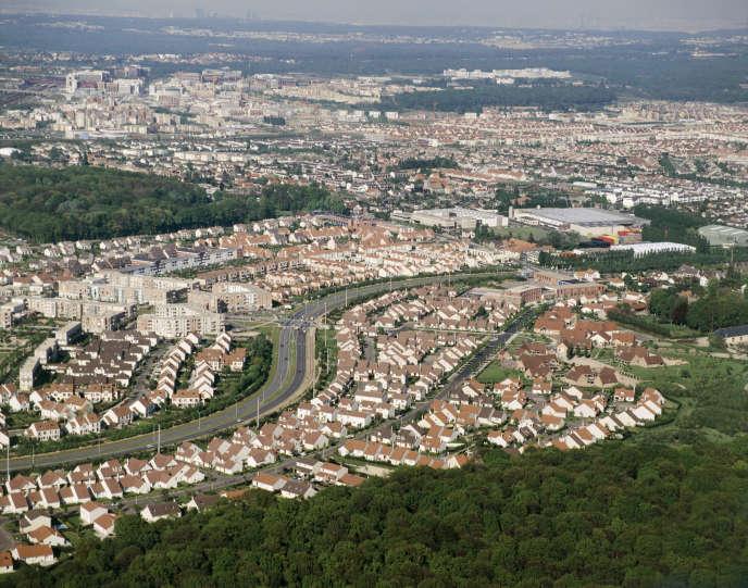 Ảnh chụp từ trên cao của Saint-Quentin-en-Yvelines.