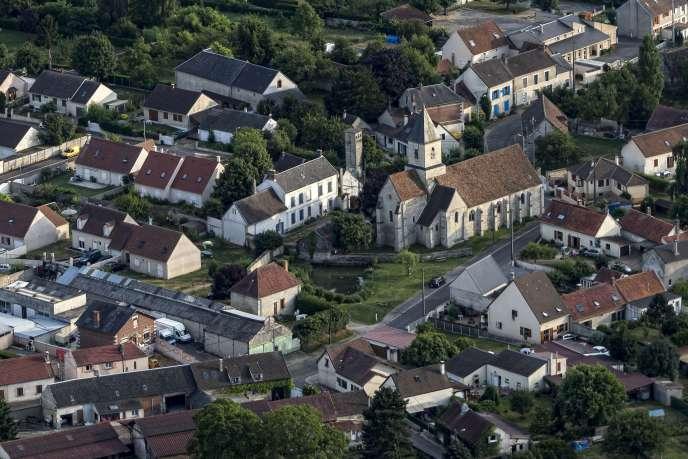 La ville de Chaussy, dans le Val-d'Oise.