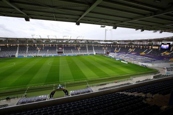 Au Stadium de Toulouse, le 2 novembre 2019.