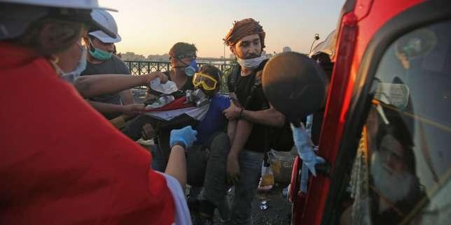 «On doit rester unis jusqu'à la chute du régime»: à Bagdad, la contestation de la place Tahrir résiste à la répression