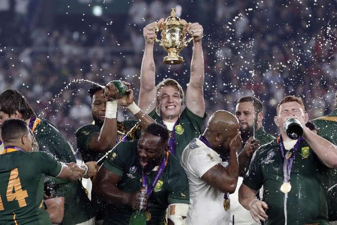 Rugby Elu meilleur joueur de l'année,Pieter-Steph du Toit est sur le toit du monde.