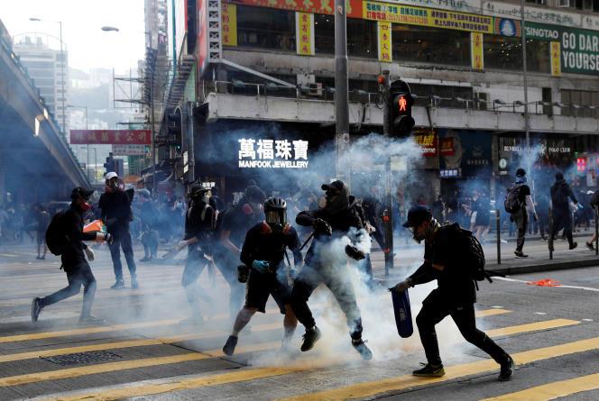A Hongkong, le 2 novembre.