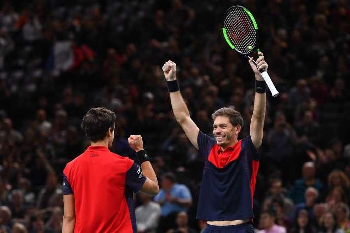 Pierre-Hugues Herbert et Nicolas Mahut ont remporté leur quatorzième titre ensemble, à Bercy.