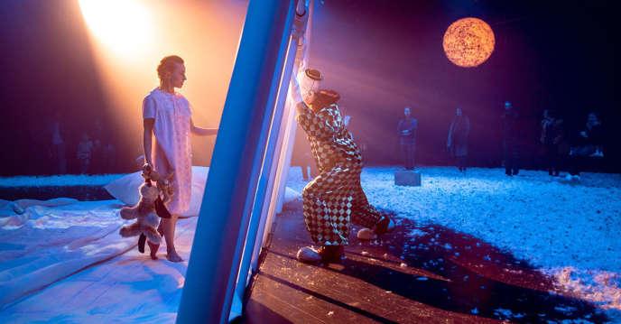 L'expérienceLullaby(«berceuse», en anglais), en juin au Centquatre à Paris, dans le cadre du festival ManiFeste de l'Ircam.
