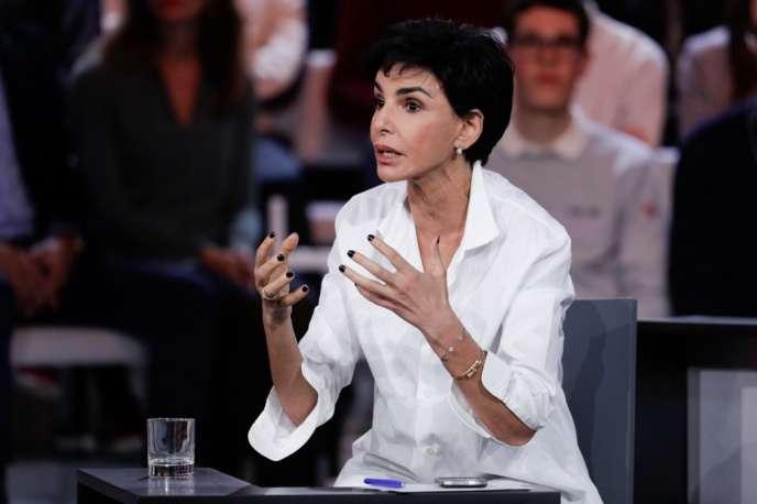 Rachida Dati, sur le plateau de « L'Emission politique » de France 2, le 24 janvier.