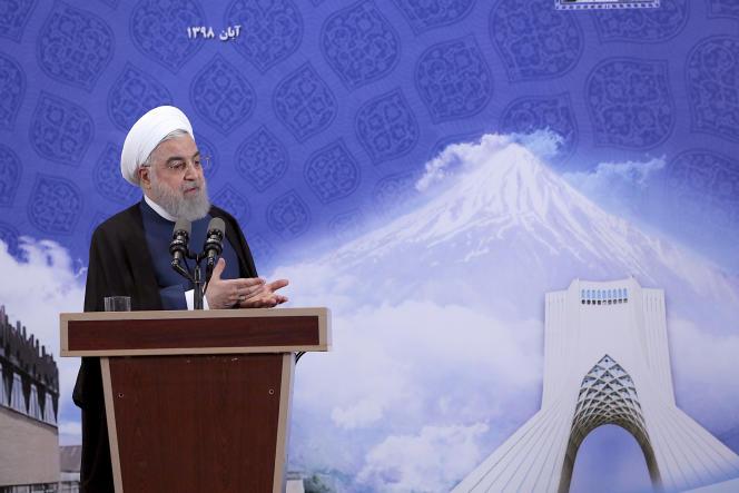 «Nous refusons de participer à l'embargo des universités d'un pays qui subit déjà la punition collective de l'administration états-unienne.» Photo : le président iranienHassan Rohani, le 5 novembre.