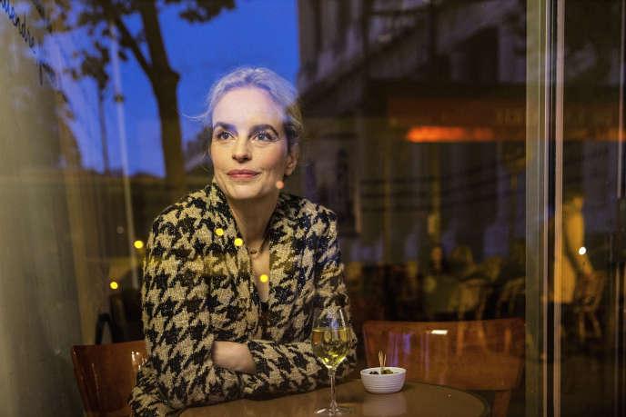Nina Hoss, au Café de la Mairie, à Paris, le 3 octobre.