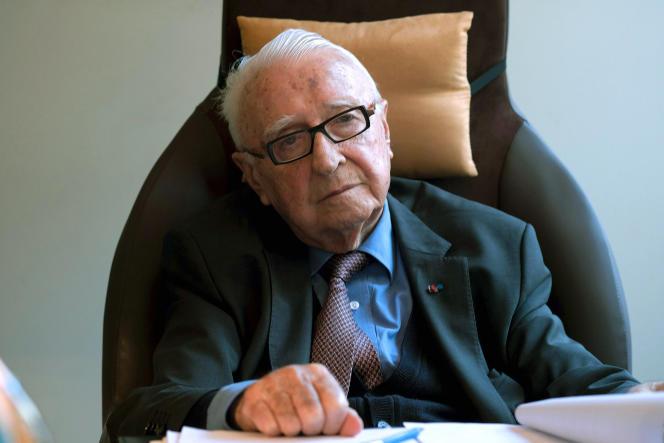 Louis Lareng dans son bureau à Toulouse, en juin 2016.