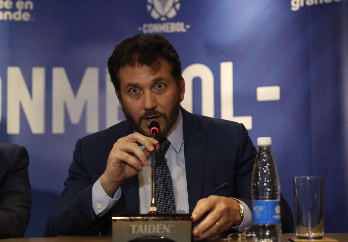 Le président du Conmebol Alejandro Dominguez a annoncé le changement de Luque, au Paraguay, le mardi 5 novembre.