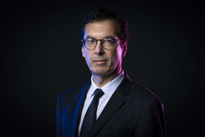 Jean-Pierre Farandou, nouveau patron de la SNCF, le 26 septembre à Paris. Il est encore à l'époque président de Keolis.
