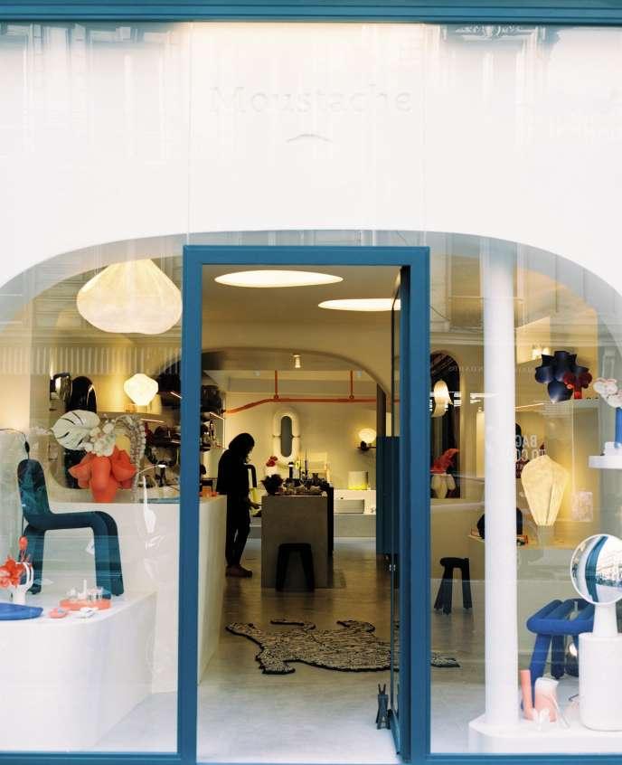 Lối vào của cửa hàng, đường Beaurepaire, Paris 10e